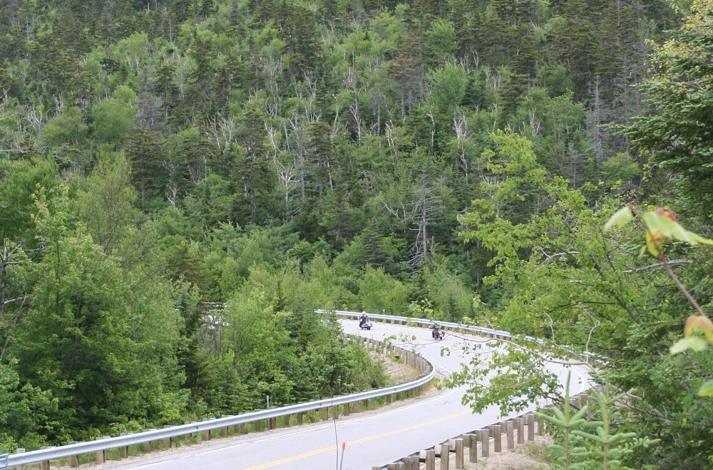 A day ride from the Kancamagus Highway to the sea