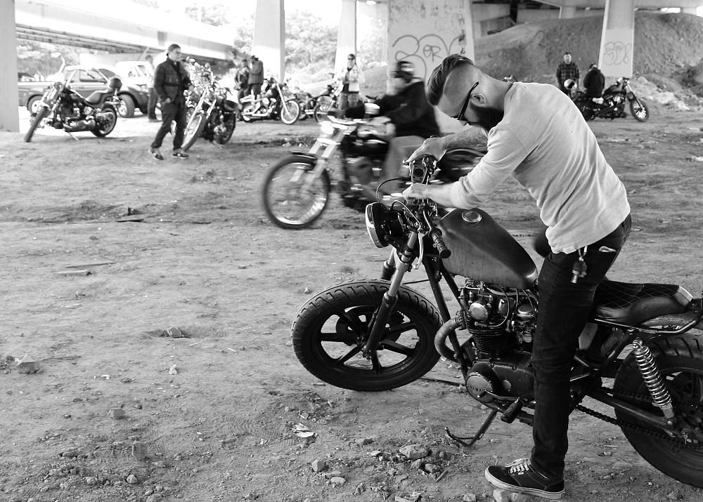 A Shovel, choppers and skateboards: a moto-weekend ends at Ride to Skate: Eight