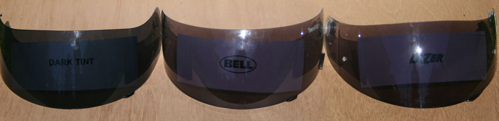 1364dbe8 TeamZilla Tested: Transitions photochromic faceshields for Bell and LaZer  helmets - RevZilla
