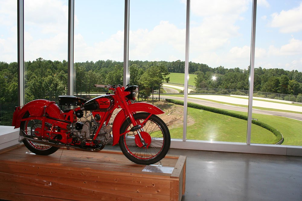 Bama & Barber: Visiting the world's best motorcycle collection