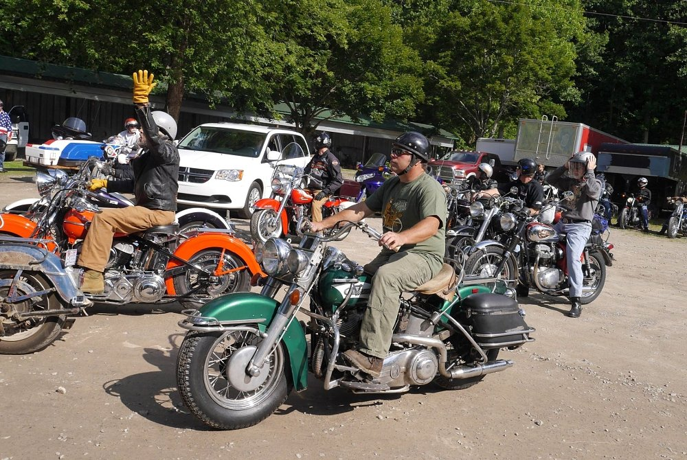 2014 Kickstart Classic: Vintage bikes for go, and for show