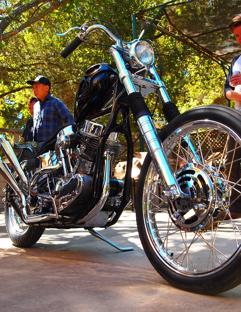10 questions with Mike Davis, co-founder of the Born-Free vintage chopper show