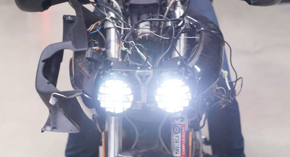 How to: Tips for installing auxiliary lights on your motorcycle