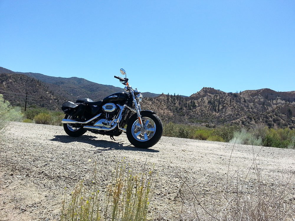 Fuelish anxiety: Hyper-miling a Sportster in the desert