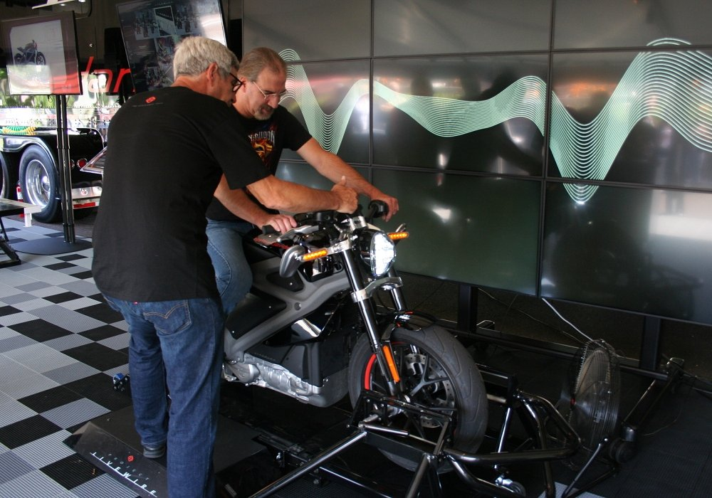 Experiencing the Harley-Davidson Project LiveWire Experience