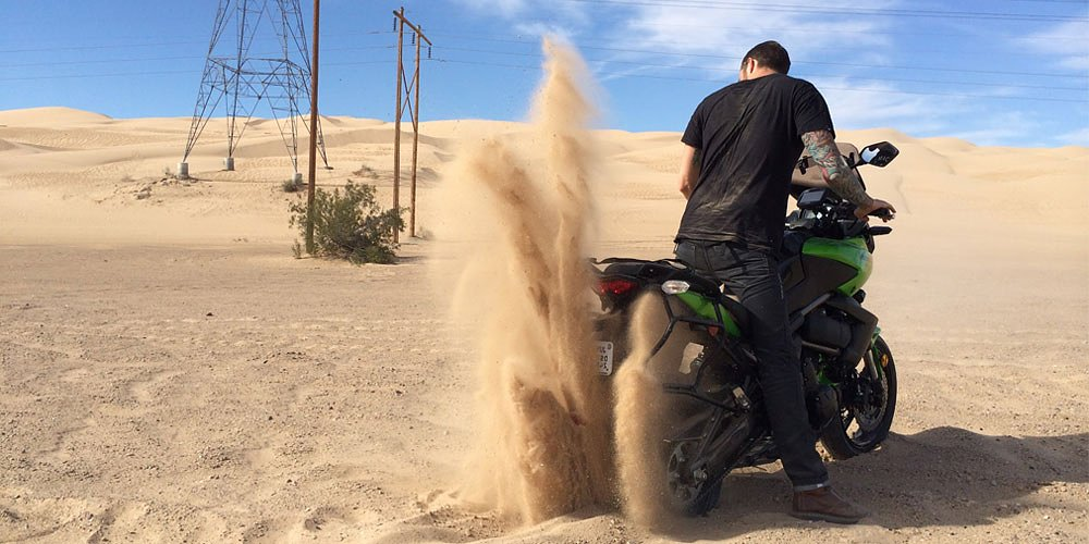 Arizona ride report, day one: Deep in the sand of Glamis