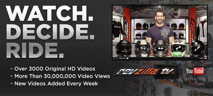 RevZilla Motorcycle Gear Guides: Watch. Decide. Ride.