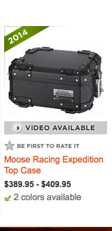 Moose Racing Expedition Top Case