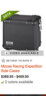 Moose Racing Expedition Side Cases