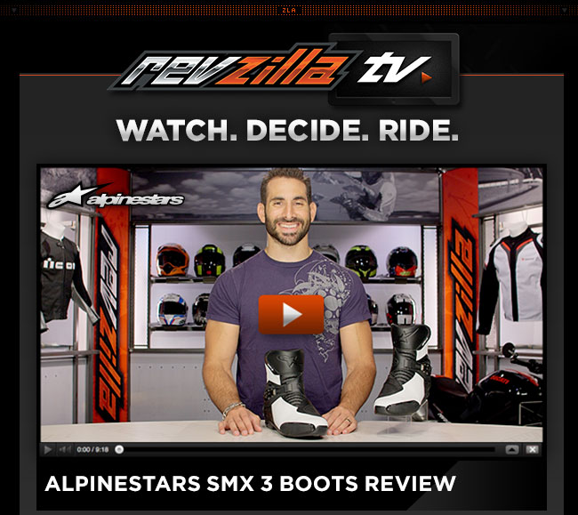 Alpinestars SMX 3 Boots Review