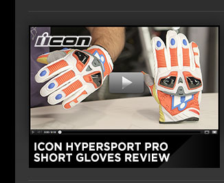 Icon Hypersport Pro Short Gloves Review
