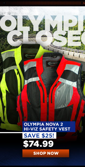 Olympia Nova 2 HiViz Safety Vest