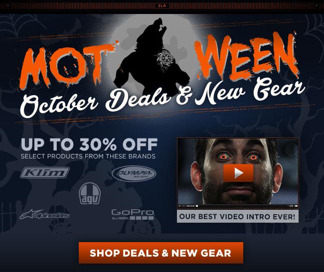 October Deals & New Gear