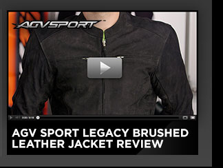 AGV Sport Legacy Brushed Leather Jacket Review