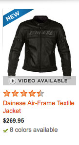 Dainese Air-Frame Textile Jacket