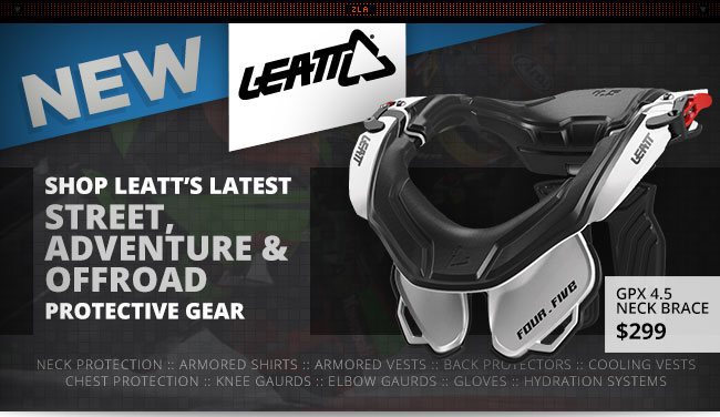 New Leatt Protective Gear