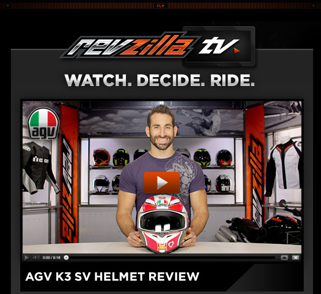 AGV K3 SV Helmets Review