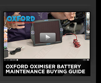 Oxford Oximiser Battery Maintenance Buying Guide