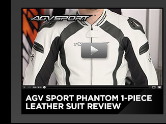 AGV Sport Phantom 1-Piece Leather Suit Review