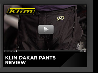 Klim Dakar Pants Review