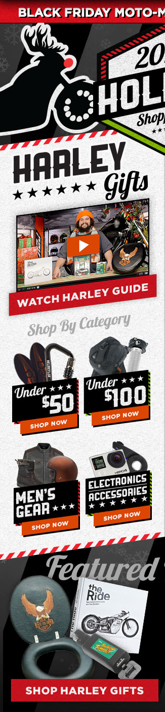 2014 Holiday Gifts For Harley
