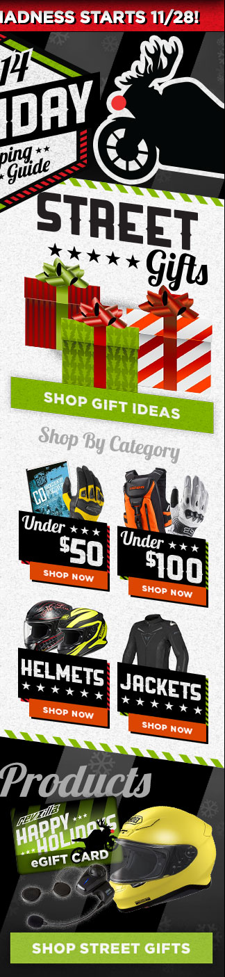 2014 Holiday Gifts For Street