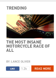 The most insane motorcycle race of all
