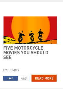 Five motorcycle movies you should see