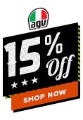 15% Off AGV Helmets