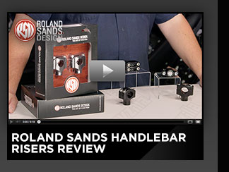 Roland Sands Handlebar Risers Review