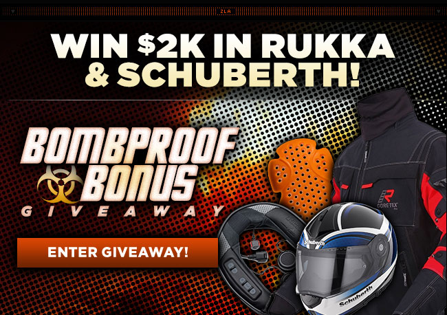 Enter to Win $2K in Rukka & Schuberth