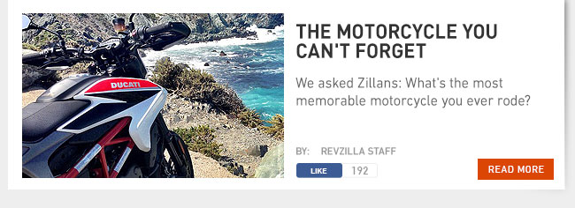 The motorcycle you can't forget