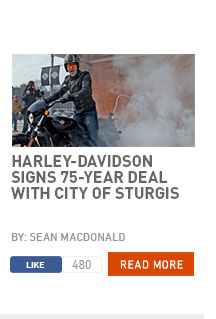 Harley-Davidson signs 75-year deal with city of Sturgis