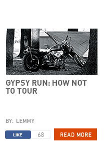 Gypsy Run: how not to tour