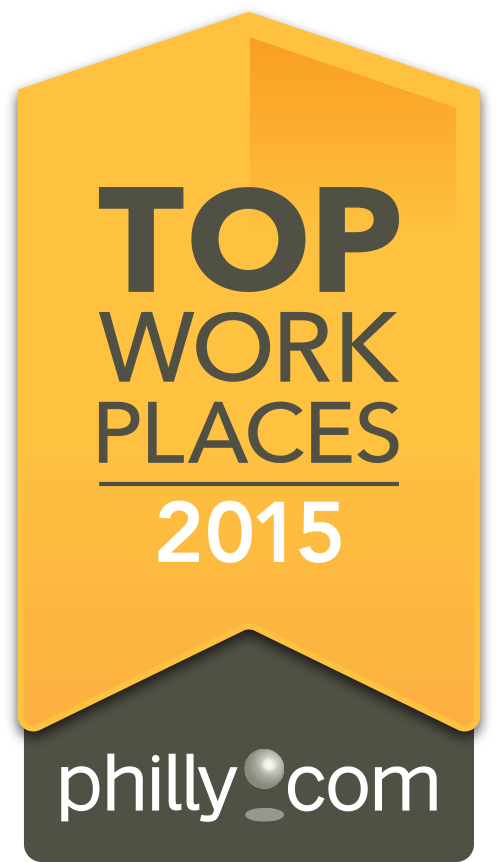 Philly.com Best Places To Work Badge