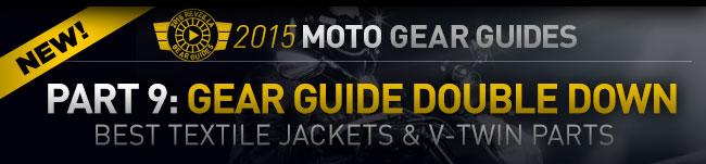 Best Textile Jackets & V-Twin Parts