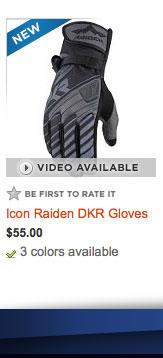 Icon Raiden DKR Gloves