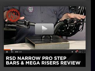 Roland Sands Narrow Pro Step Bars & Mega Risers Review