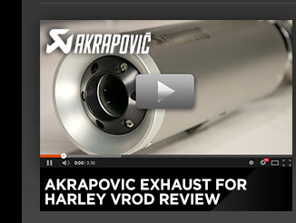Akrapovic Open-Line 2-Into-1 Exhaust System For Harley V-Rod Review