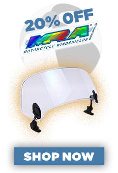20% Off MRA Windscreens