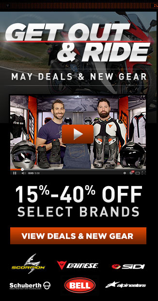 RevZilla's Monthly Deals & New Gear