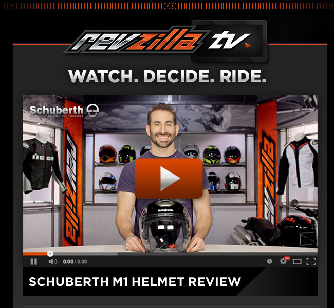 Schuberth M1 Helmet Review