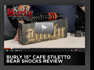 Burly Cafe Stiletto Rear Shocks Review