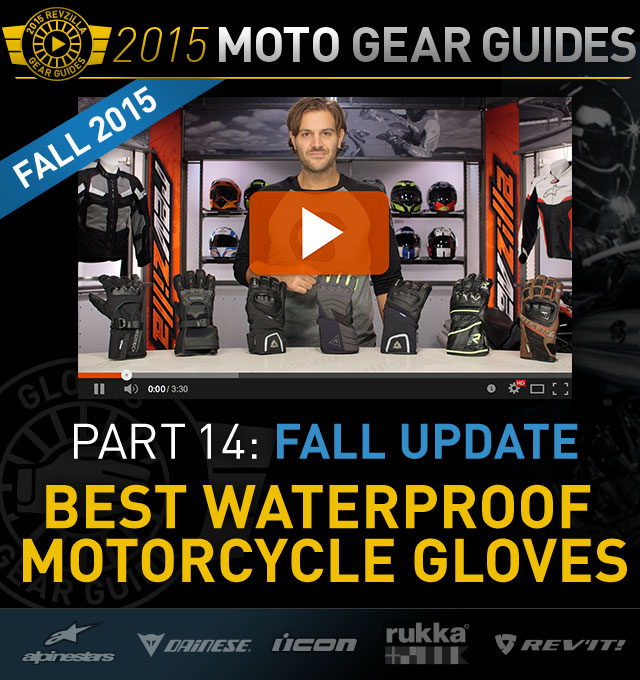 Watch RevZilla's Fall 2015 Motorcycle Gloves Buyer's Guide