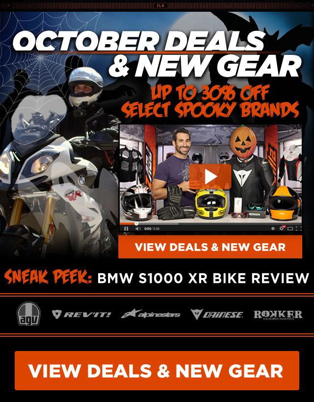 Shop October Deals & New Gear at RevZilla