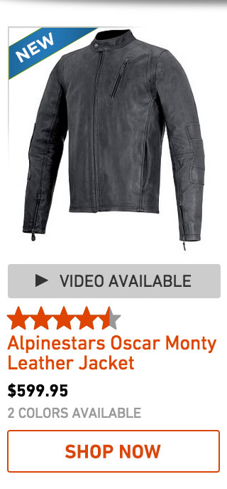 Alpinestars Oscar Monty Leather Jacket
