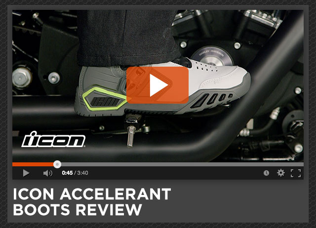 Icon Accelerant Boots Review