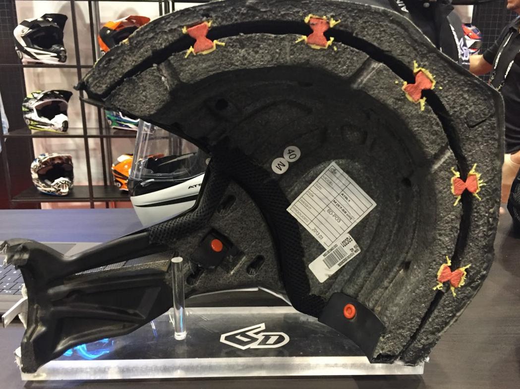 6D ATS-1 Helmet Lining