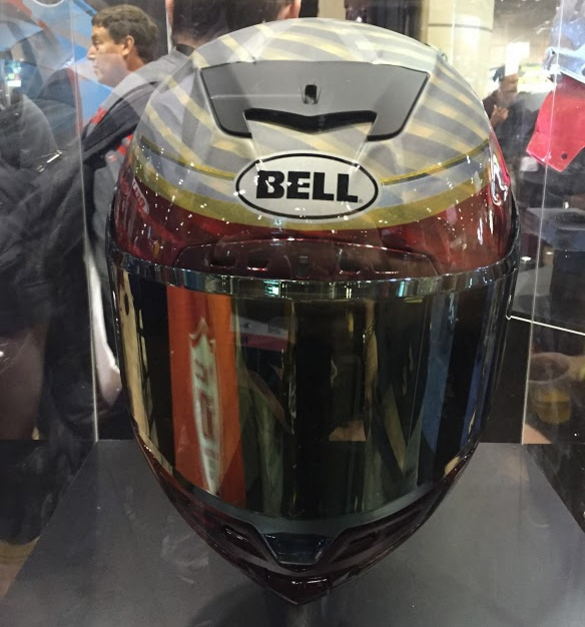 Bell Star Motorcycle Helmet Front View