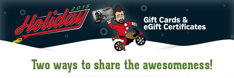Gift Cards & eGift Certs!
